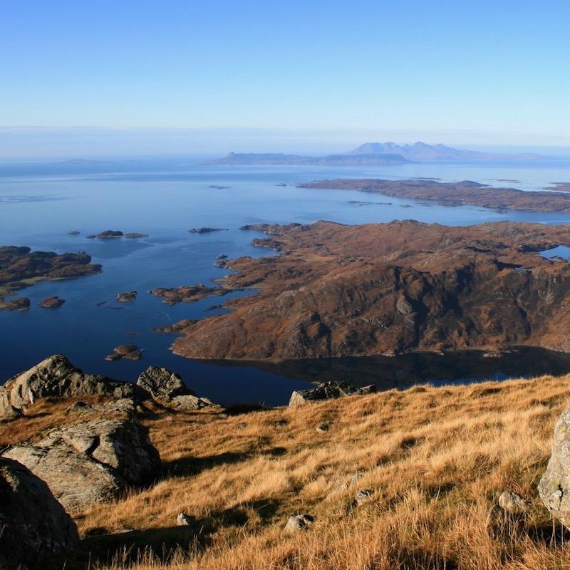 Glenuig Inn Roshven Lochailort to Small Isles Eigg Rum Muck