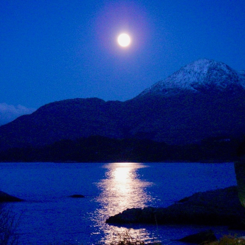 Glenuig Inn Full Moon