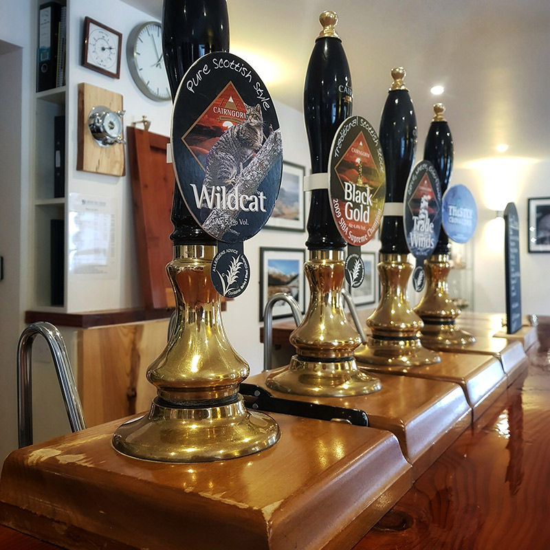 Glenuig Inn - Real Ale Hand Pumps